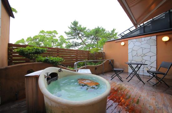 客室露店風呂